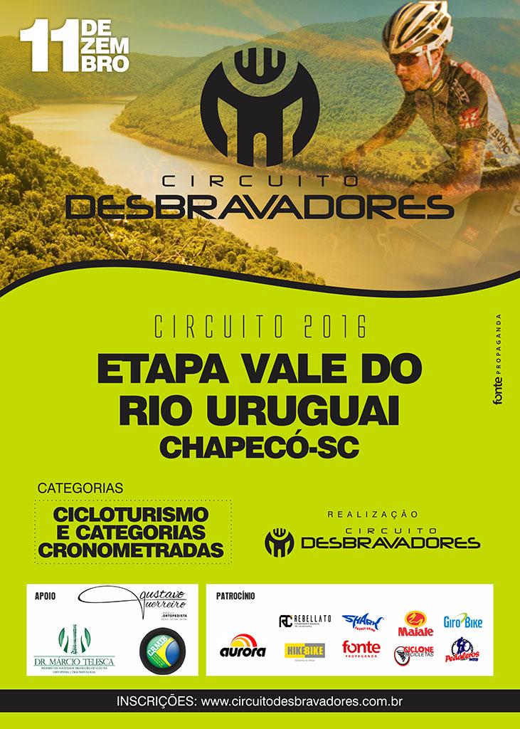 Etapa Vale do Rio Uruguai | Giro Bike
