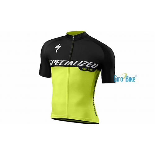 Camisa Specialized Sl Pro – Preto/Amarelo
