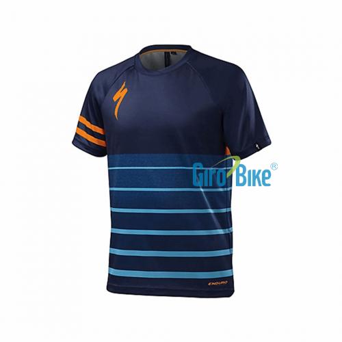 Camisa Specialized Enduro Comp – Azul/Laranja