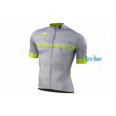 Camisa Specialized Sl Expert – Cinza/Amarelo
