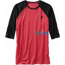Camisa Specialized Urbana S 3/4 – Vermelho/Preto