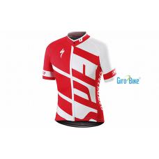 Camisa Specialized Rbx Comp Jersey – Vermelho/Branco