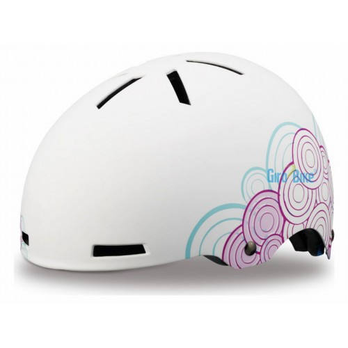 Capacete Specialized Covert Kids – Branco/Rosa