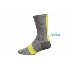 Meia Specialized Road Tall Socks – Cinza/Amarelo
