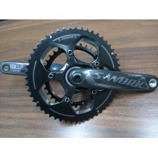 PEDIVELA SPECIALIZED S-WORKS CARBON ROAD CRANK ARMS COM SET COROAS S-WORKS